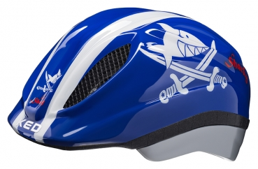 Fahrradhelm KED Kids/Junior MEGGY ORIGINALS Sharky blue
