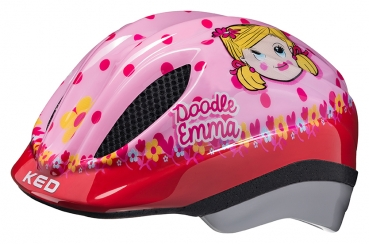 Fahrradhelm KED Kids/Junior MEGGY ORIGINALS Doodle Emma