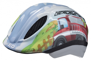 Fahrradhelm KED  Kids/Junior MEGGY TREND FIRE TRUCK