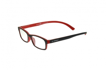 Lesebrille black-red Slokker