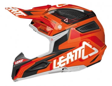 IXS Leatt 5.5 Comp orange-schwarz-rot