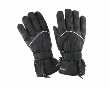 Handschuhe Gloves black MAN Slokker