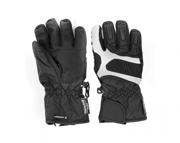 Handschuhe Gloves black KIDS Slokker